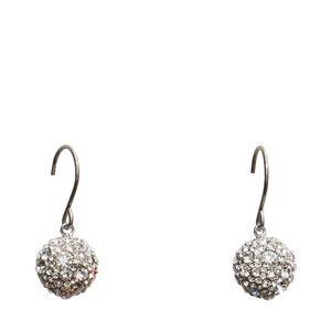 Vera Bradley Radiant Fireball Drop Earrings Silver